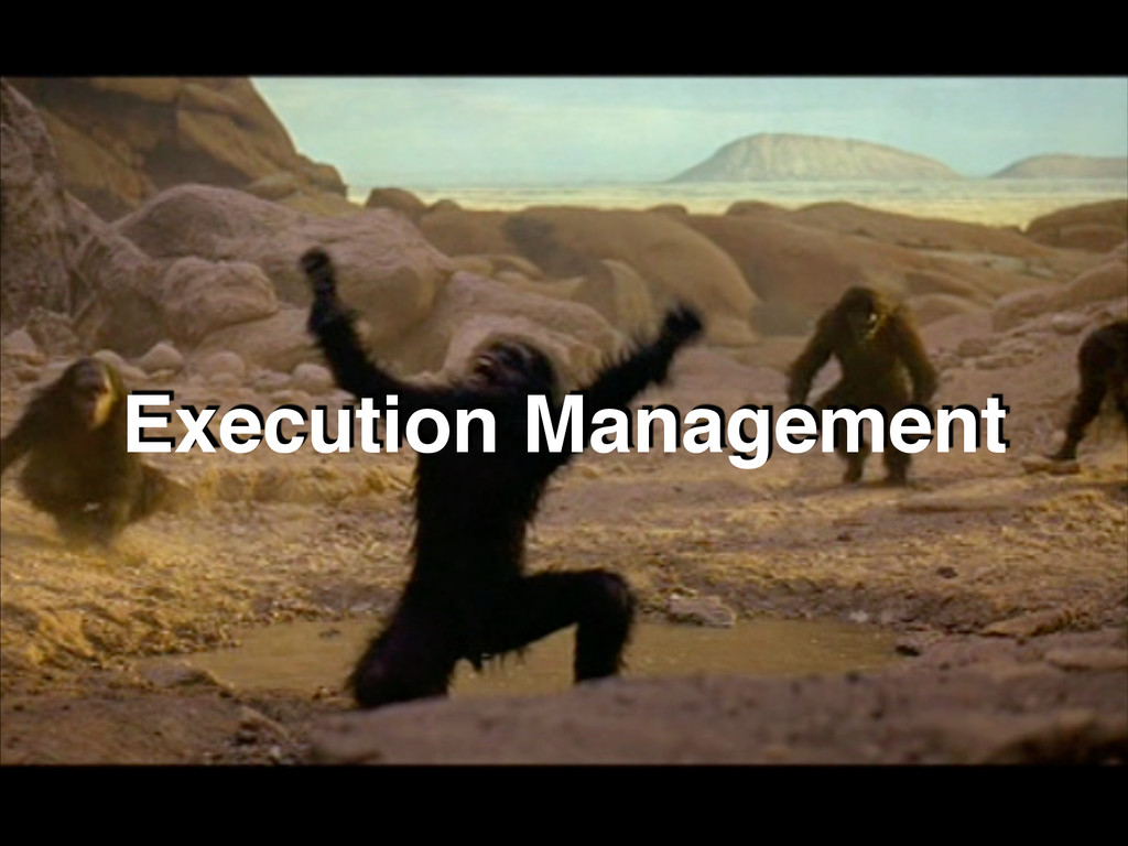 Execution Management