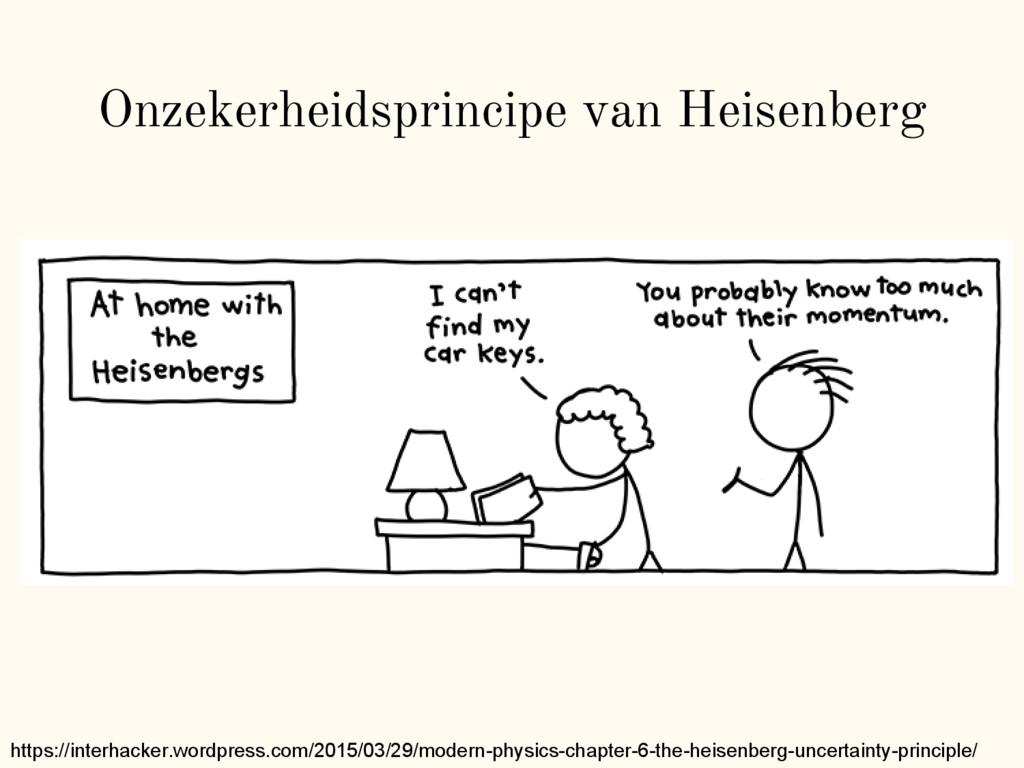 Onzekerheidsprincipe van Heisenberg https://int...