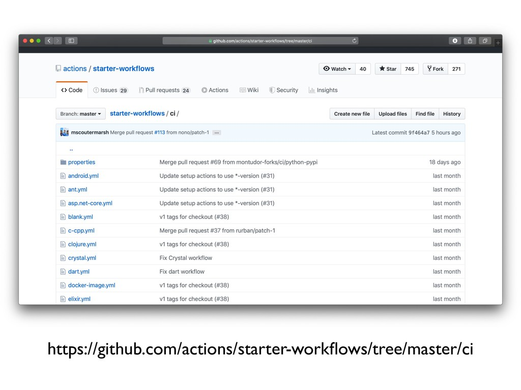 https://github.com/actions/starter-workflows/tre...