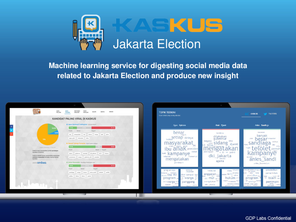 Jakarta Election Machine learning service for d...