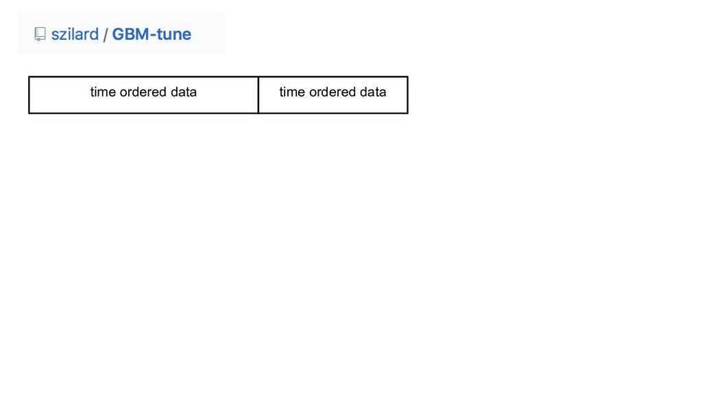 time ordered data time ordered data