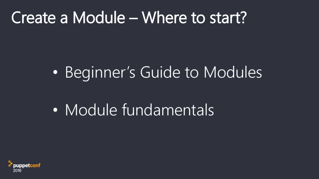 Create a Module – Where to start? • Beginner's ...