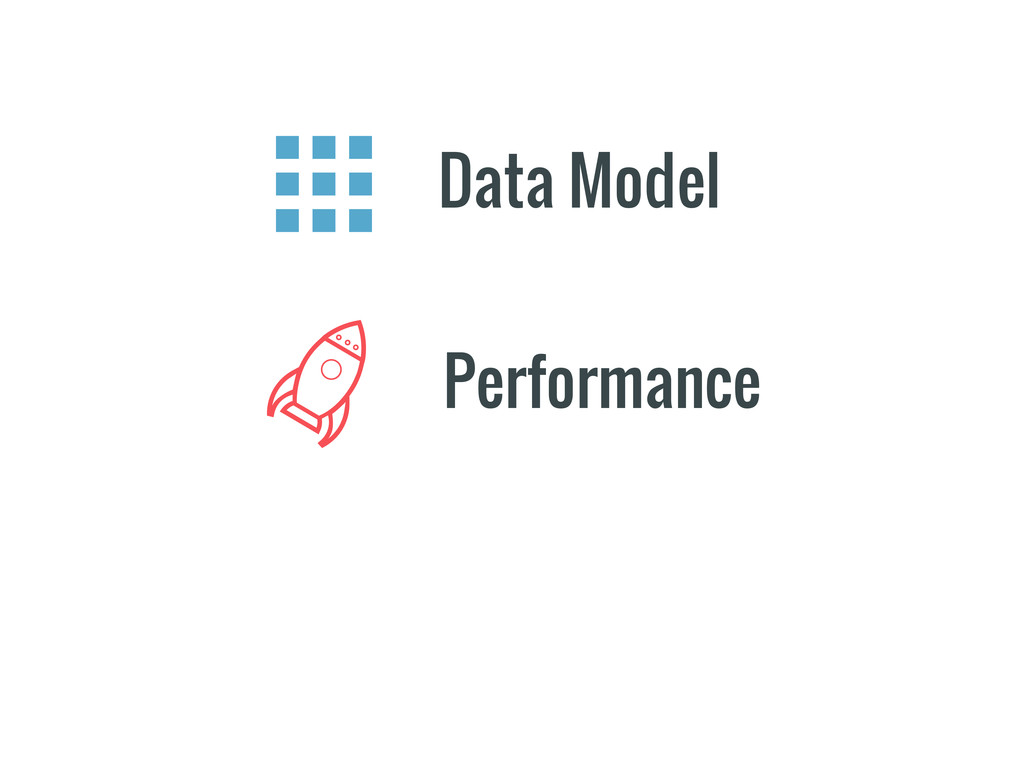 Performance Data Model
