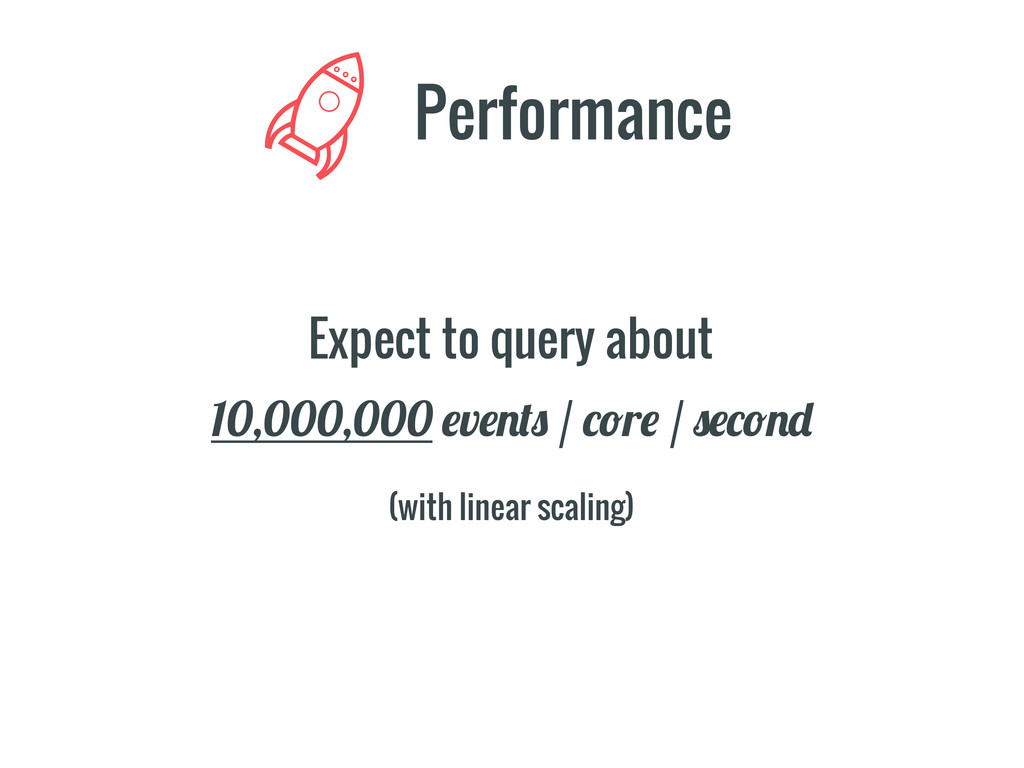 Expect to query about Performance 10,000,000 #v...