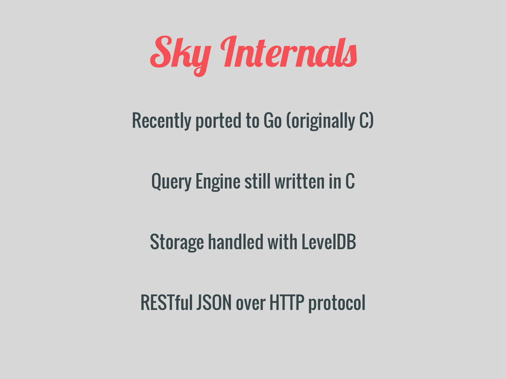 S/+ I!%#r!&,$ Recently ported to Go (originally...