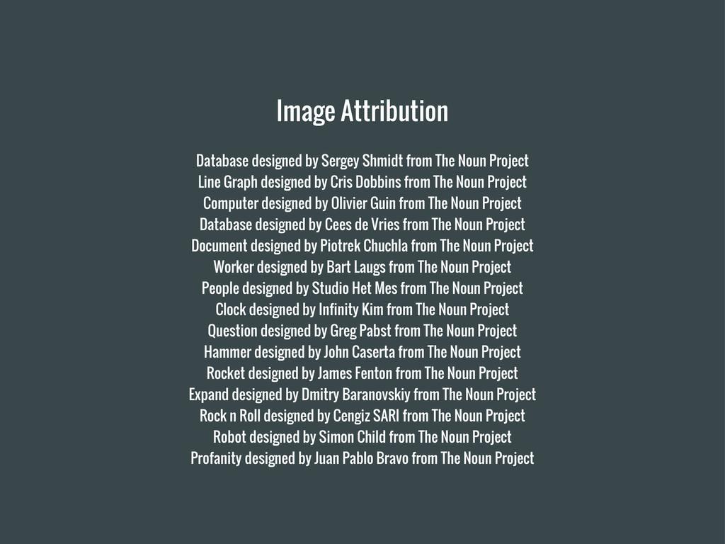 Image Attribution Database designed by Sergey S...