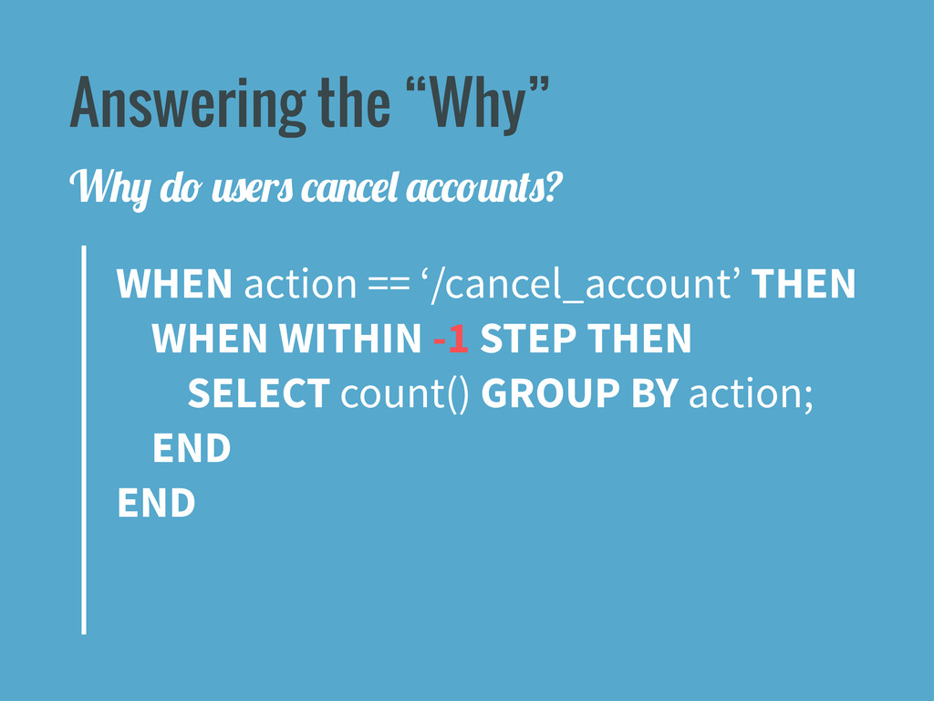"""Answering the """"Why"""" WHEN action == '/cancel_acc..."""