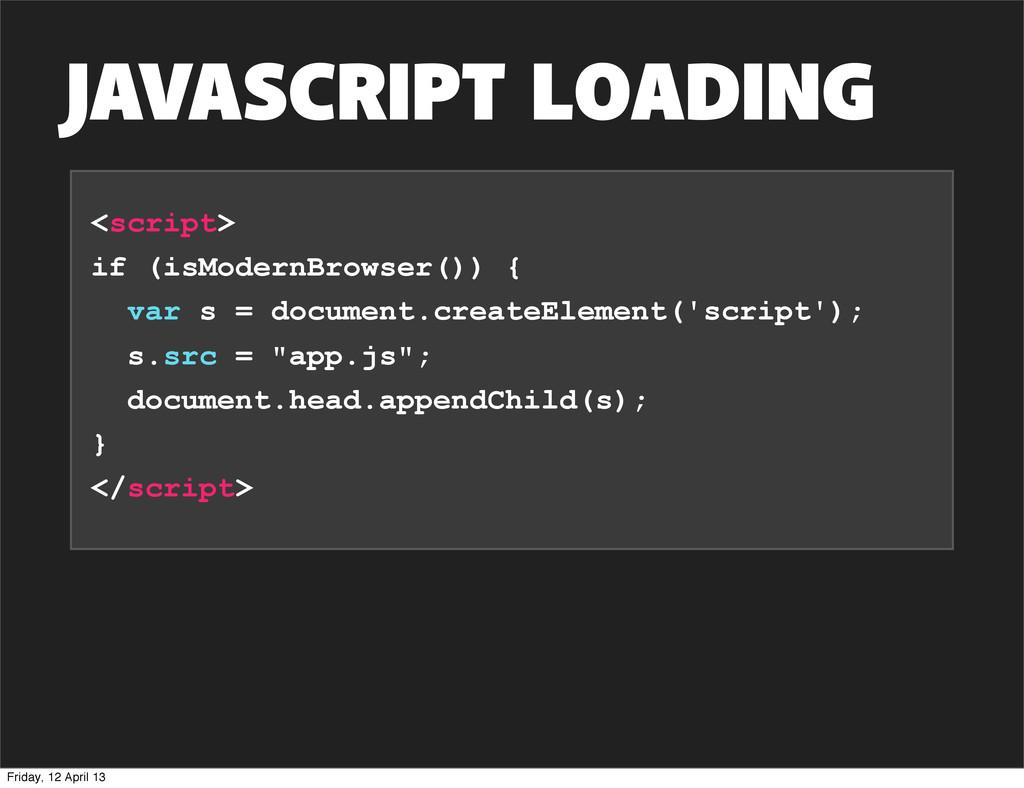 <script> if (isModernBrowser()) { var s = docum...