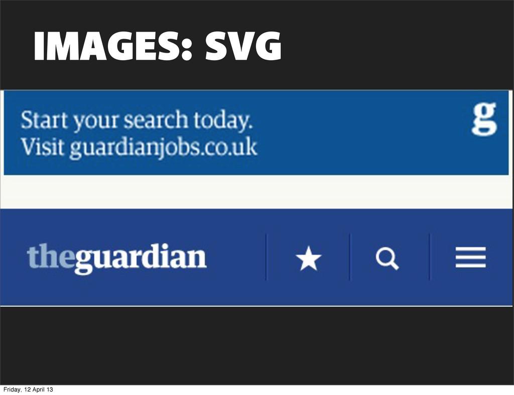 IMAGES: SVG Friday, 12 April 13
