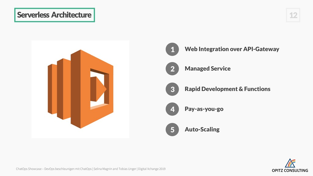 Serverless Architecture 1 Web Integration over ...
