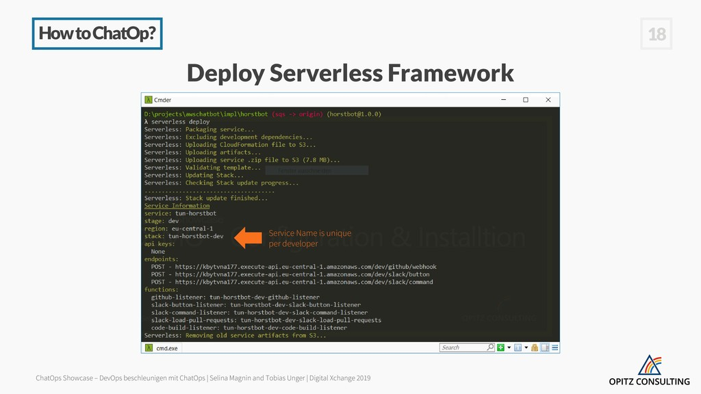 How to ChatOp? 18 Deploy Serverless Framework S...
