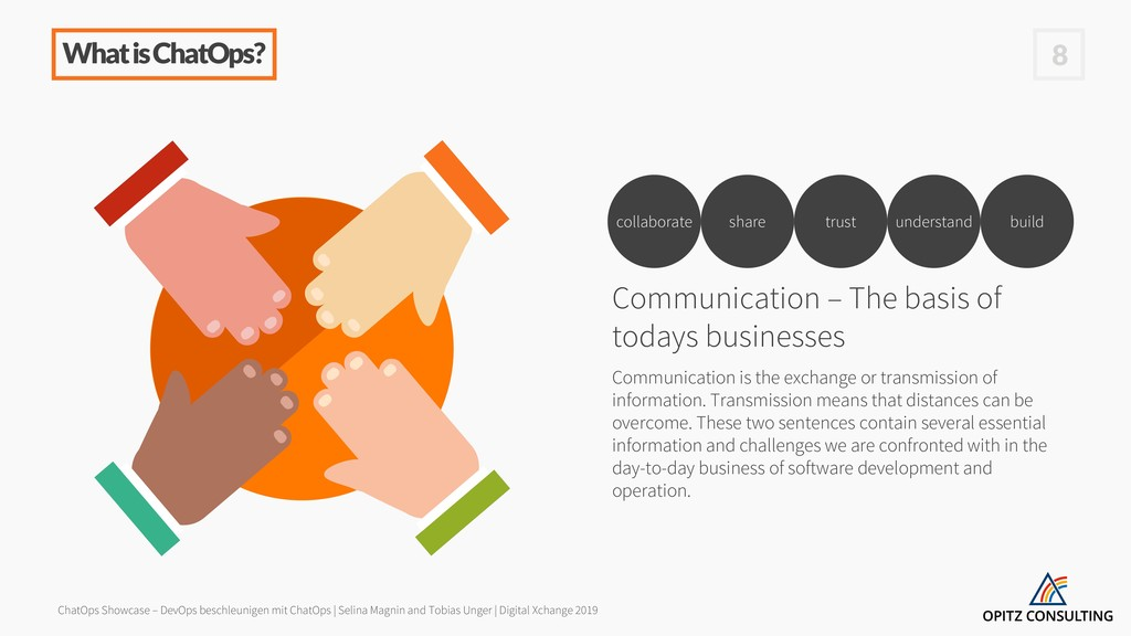What is ChatOps? Communication – The basis of t...