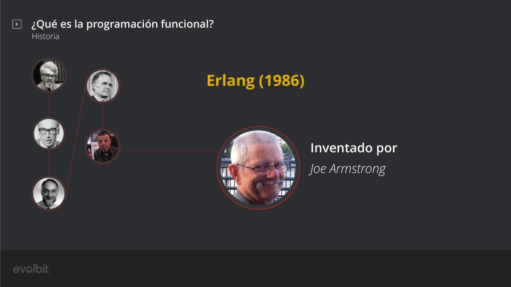 ¿Qué es la programación funcional? Historia Joe...