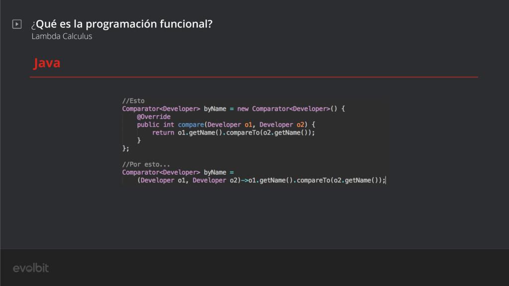 ¿Qué es la programación funcional? Lambda Calcu...