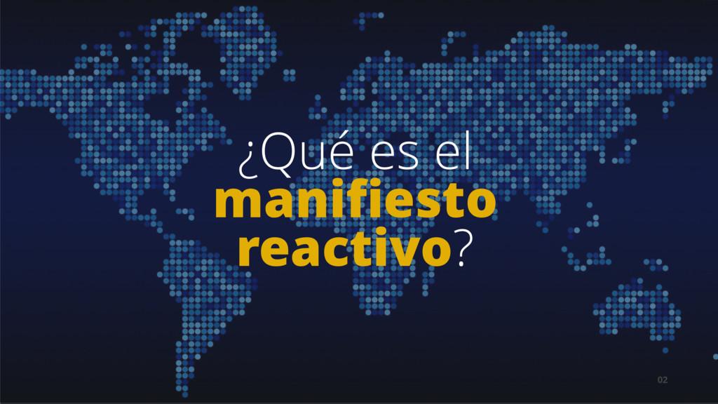 02 ¿Qué es el manifiesto reactivo?