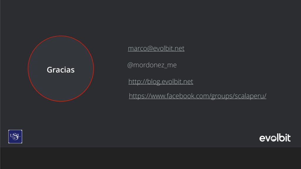 Gracias marco@evolbit.net http://blog.evolbit.n...