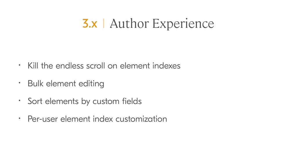 Author Experience • Kill the endless scroll on ...
