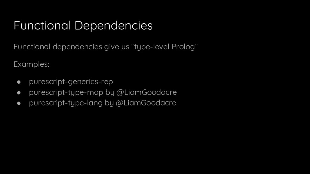 Functional Dependencies Functional dependencies...