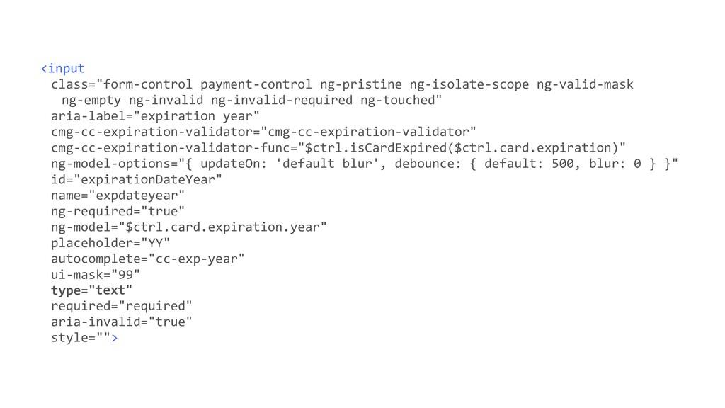 """<input class=""""form-control payment-control ng-p..."""