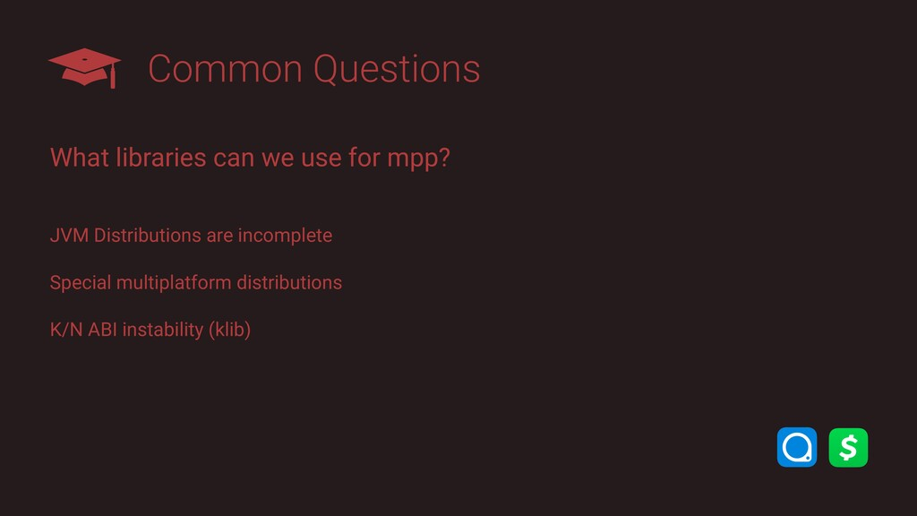 Common Questions What libraries can we use for ...
