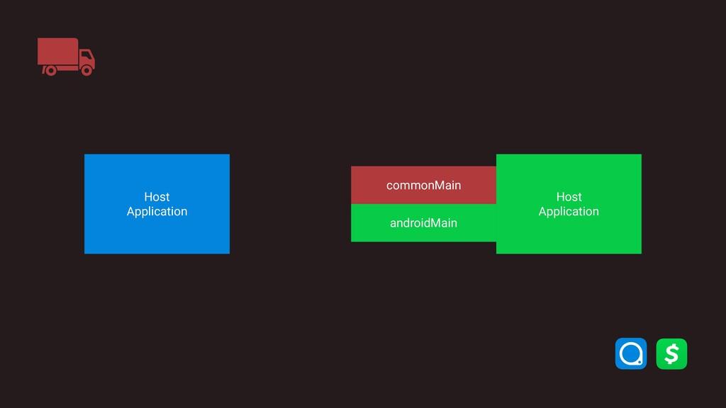 commonMain androidMain Host Application Host ...