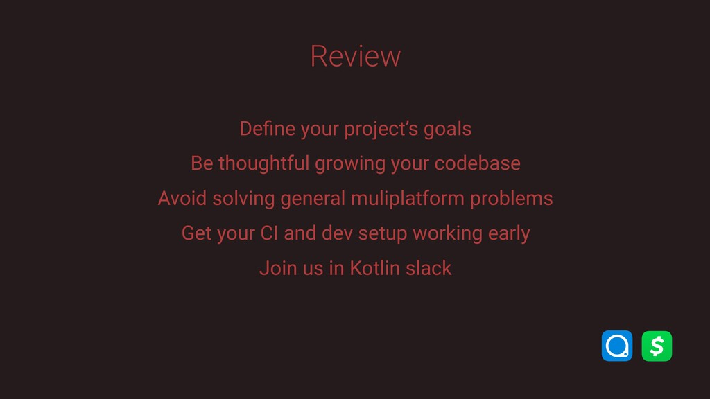 Define your project's goals Be thoughtful growin...