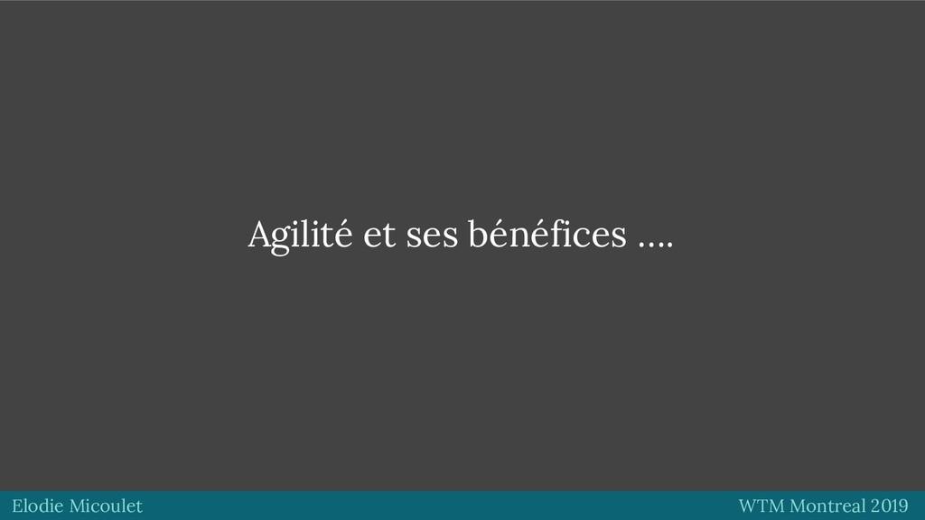 Elodie Micoulet WTM Montreal 2019 Agilité et se...