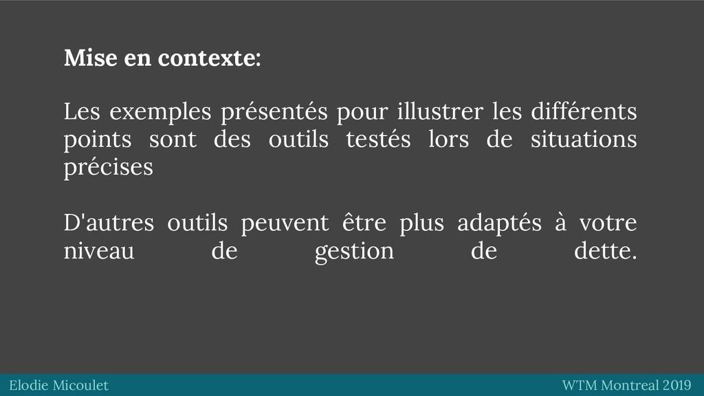 Elodie Micoulet WTM Montreal 2019 Mise en conte...