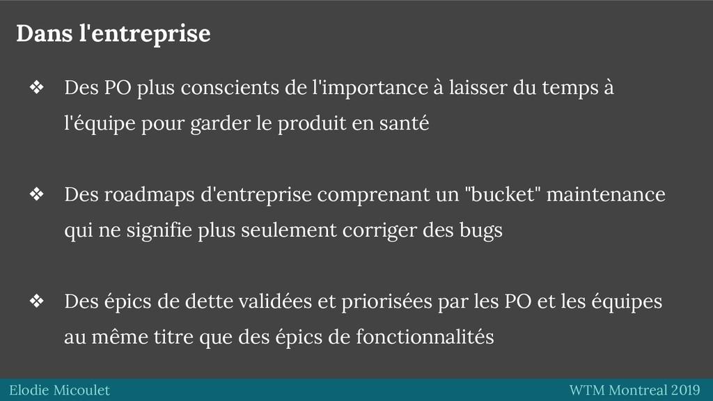 Elodie Micoulet WTM Montreal 2019 Dans l'entrep...