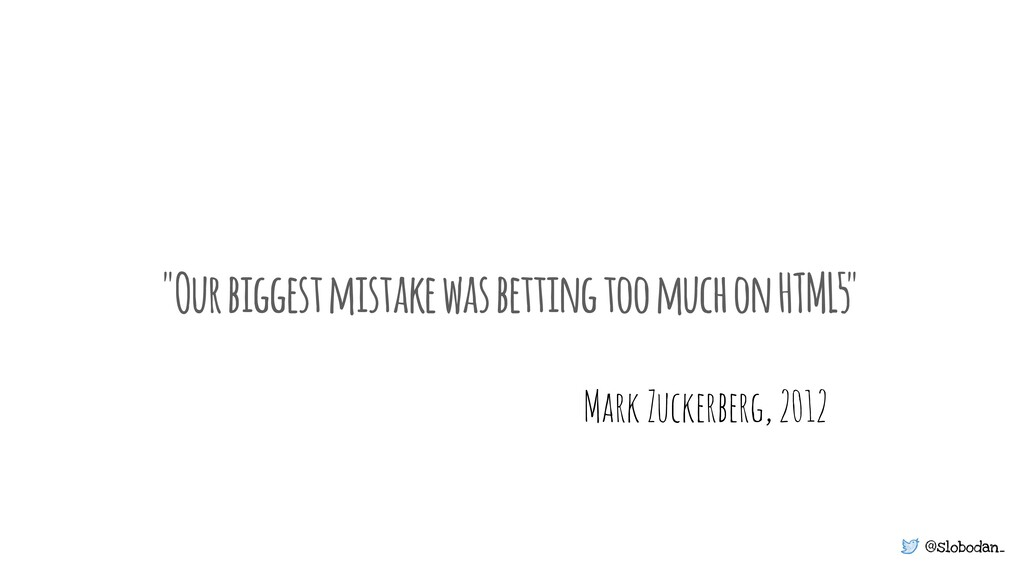 """@slobodan_ """"Our biggest mistake was betting too..."""