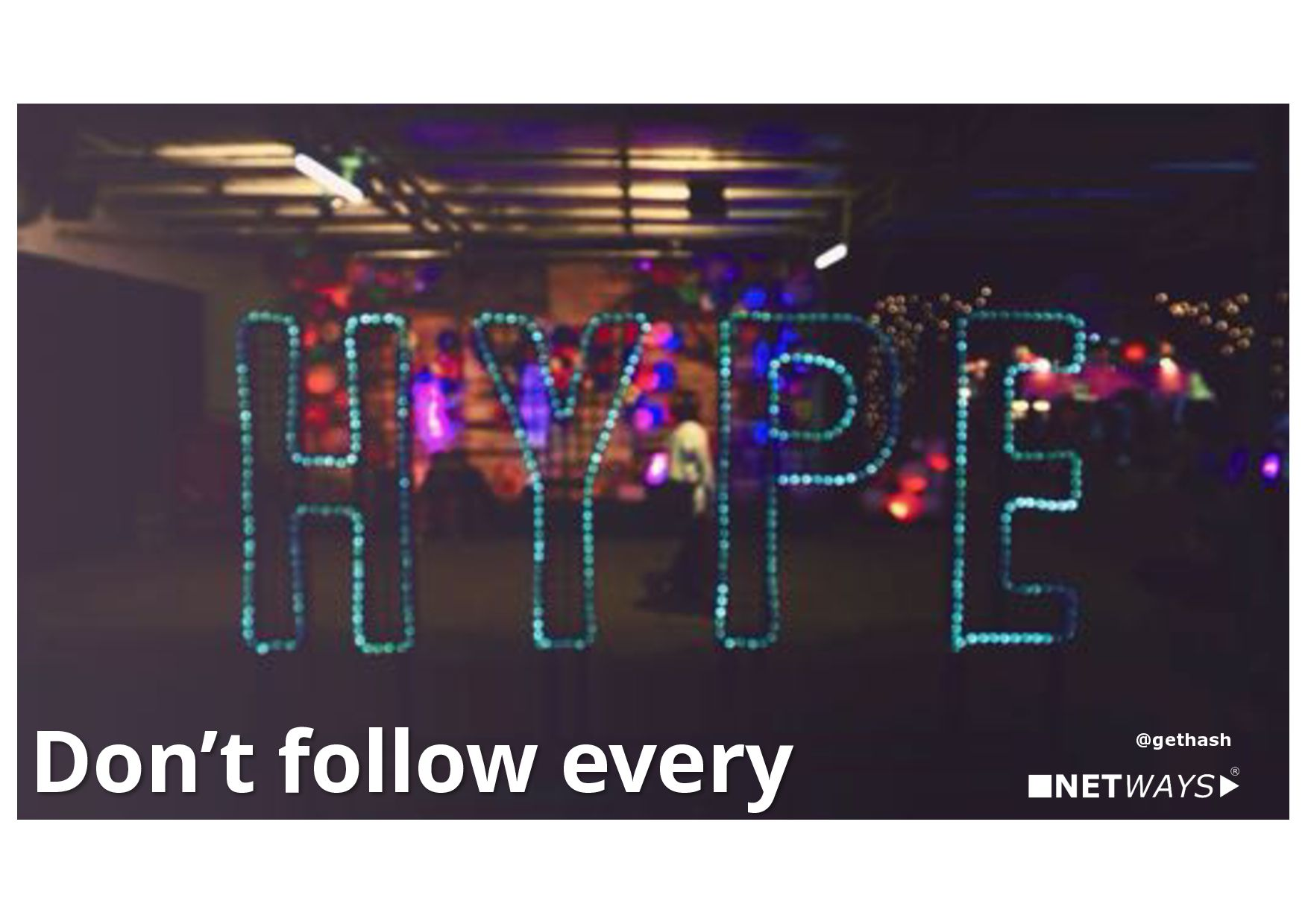Diversity is up to you!