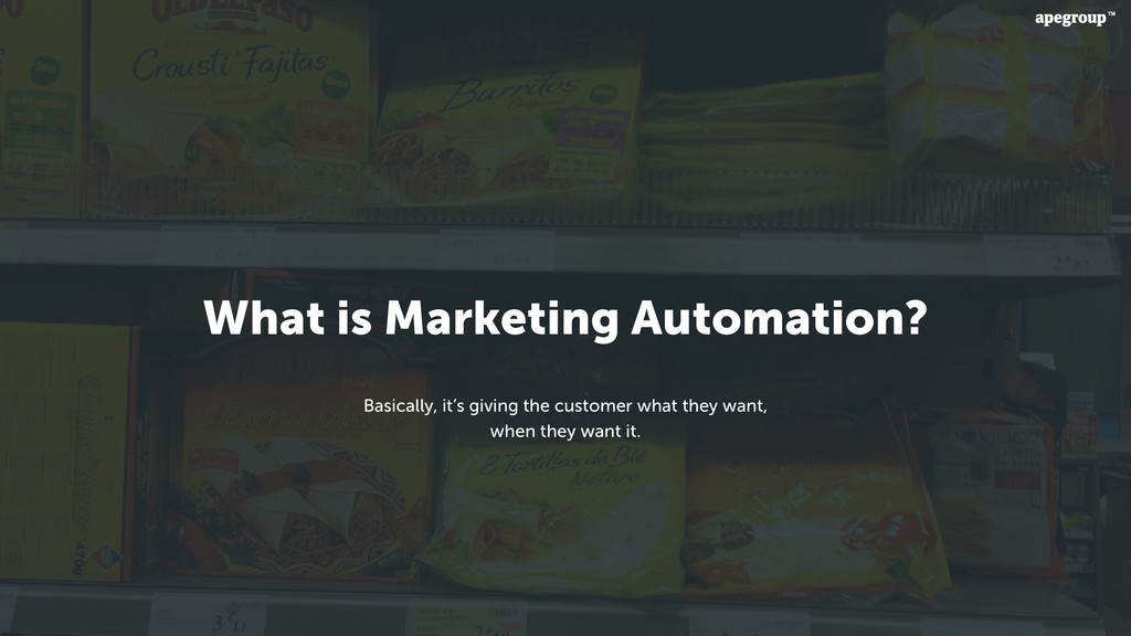 What is Marketing Automation? Basically, it's g...
