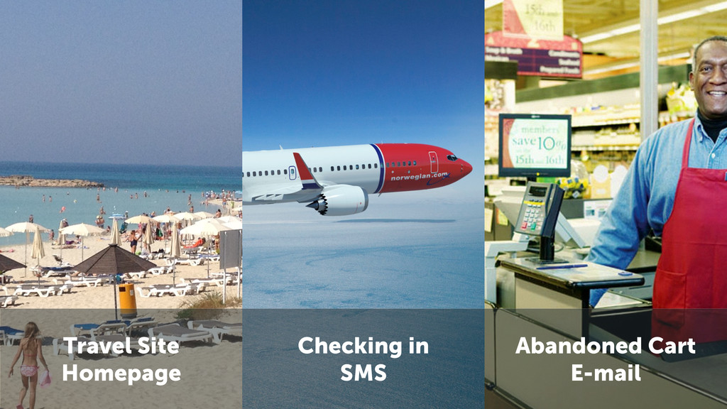 Travel Site Homepage Checking in SMS Abandoned ...