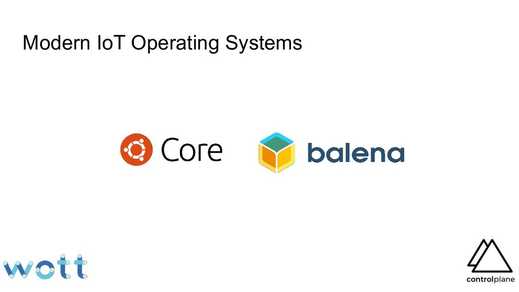 Modern IoT Operating Systems