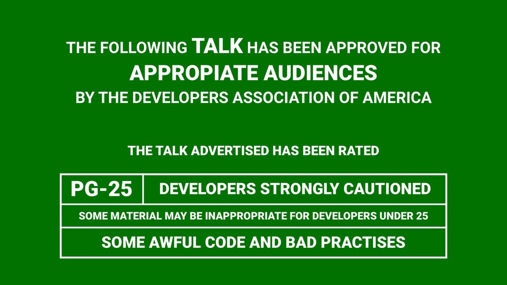 THE FOLLOWING TALK HAS BEEN APPROVED FOR APPROP...