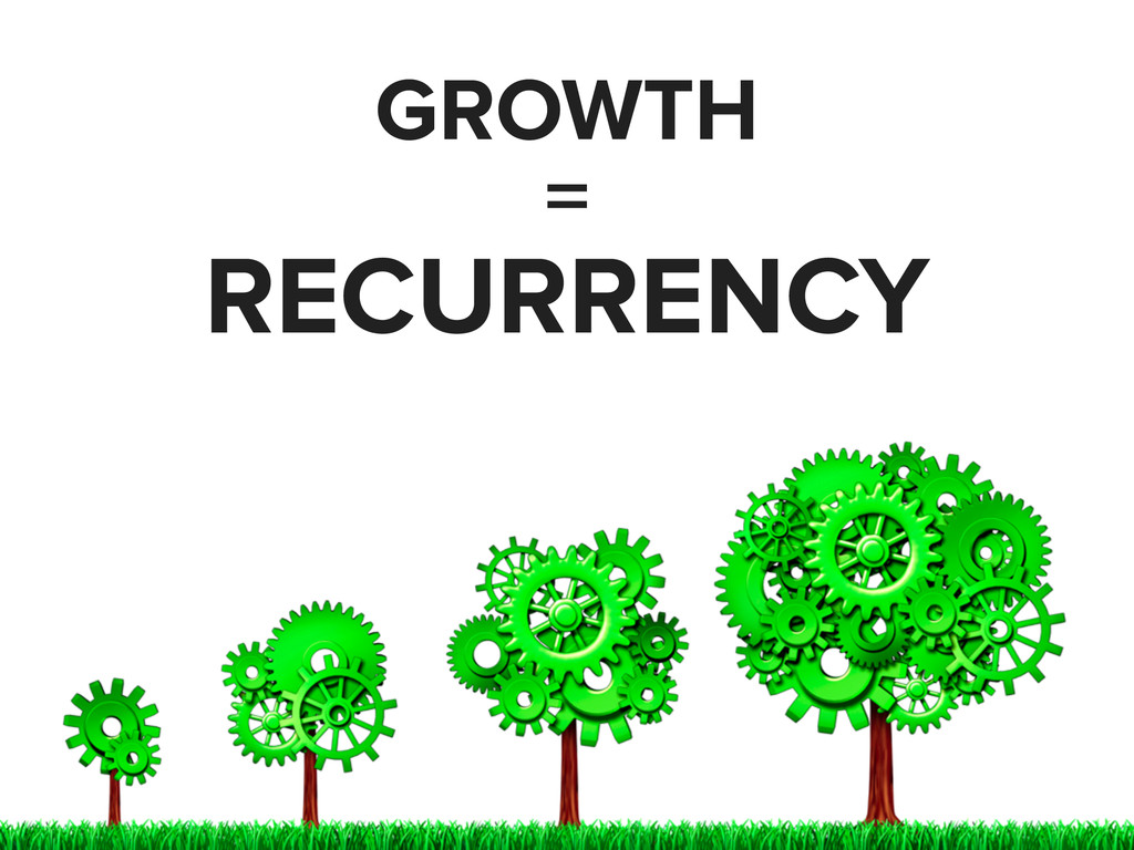 GROWTH = RECURRENCY