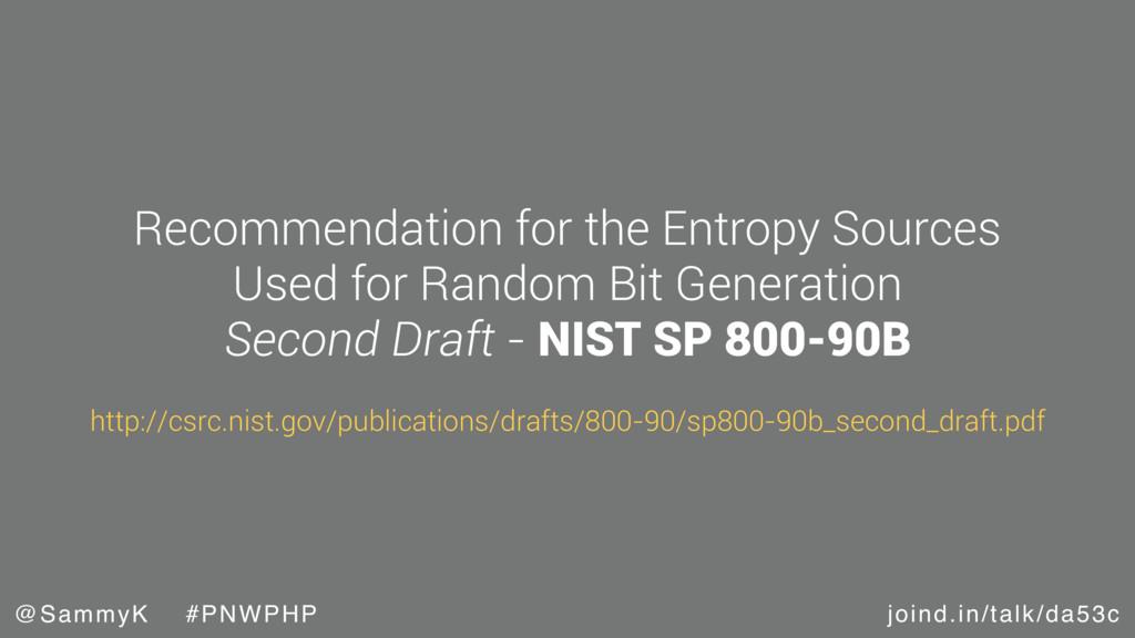 joind.in/talk/da53c @SammyK #PNWPHP Recommendat...