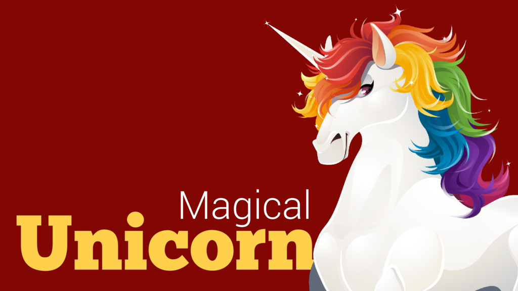 Unicorn Magical