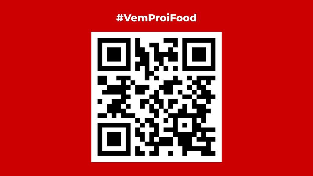 #VemProiFood