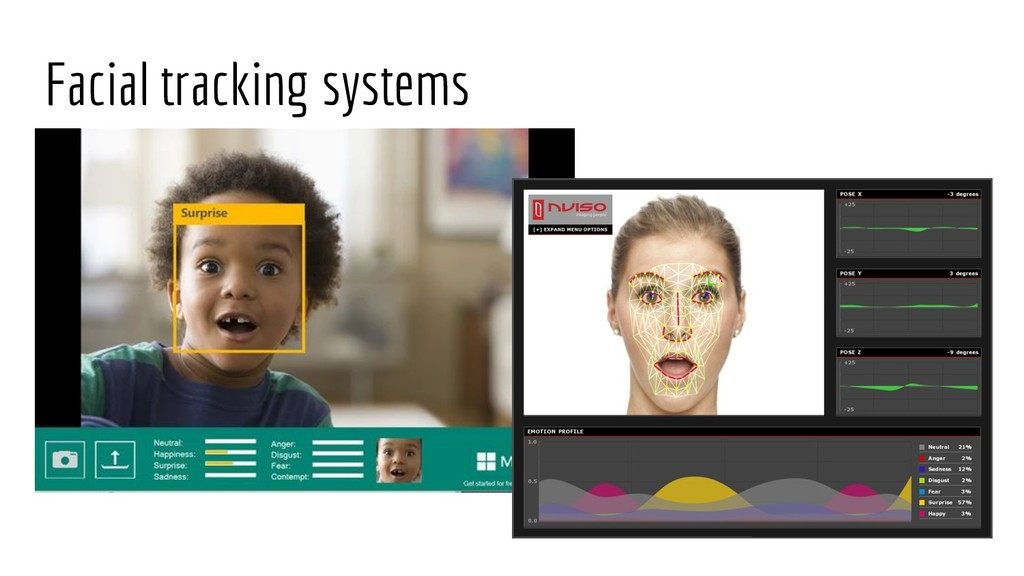 Facial tracking systems