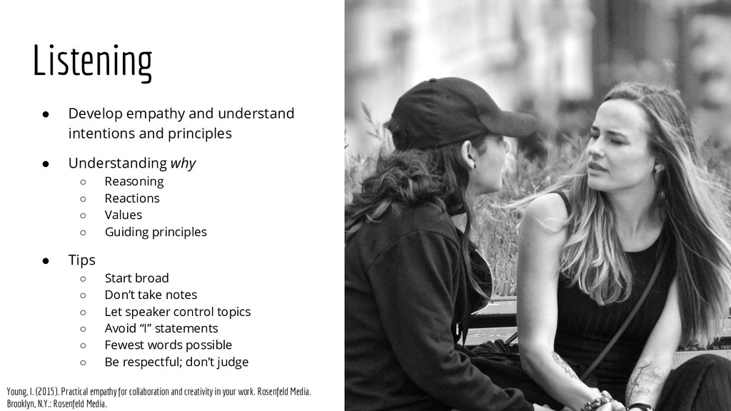 ● Develop empathy and understand intentions and...