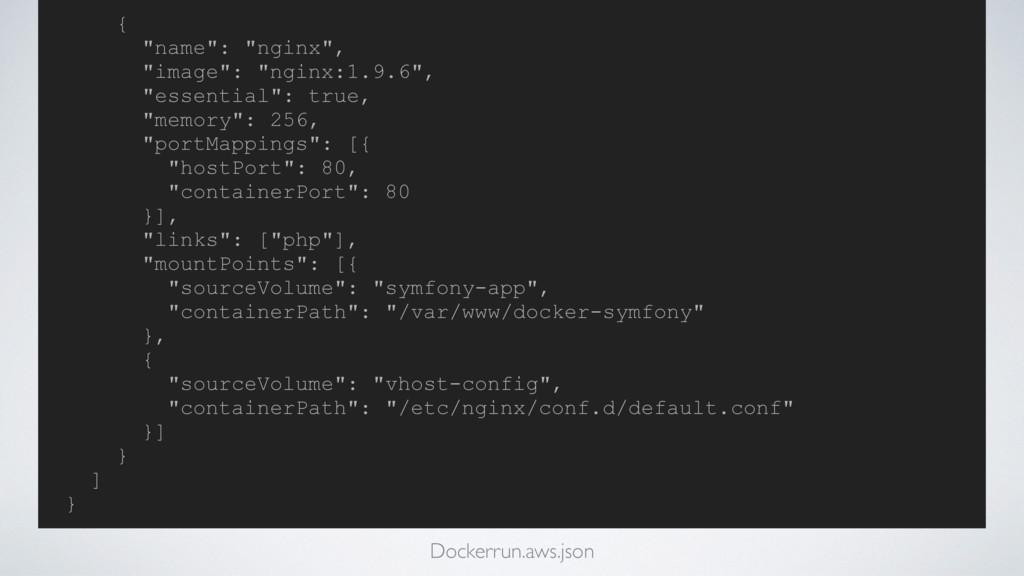 "{ ""name"": ""nginx"", ""image"": ""nginx:1.9.6"", ""ess..."