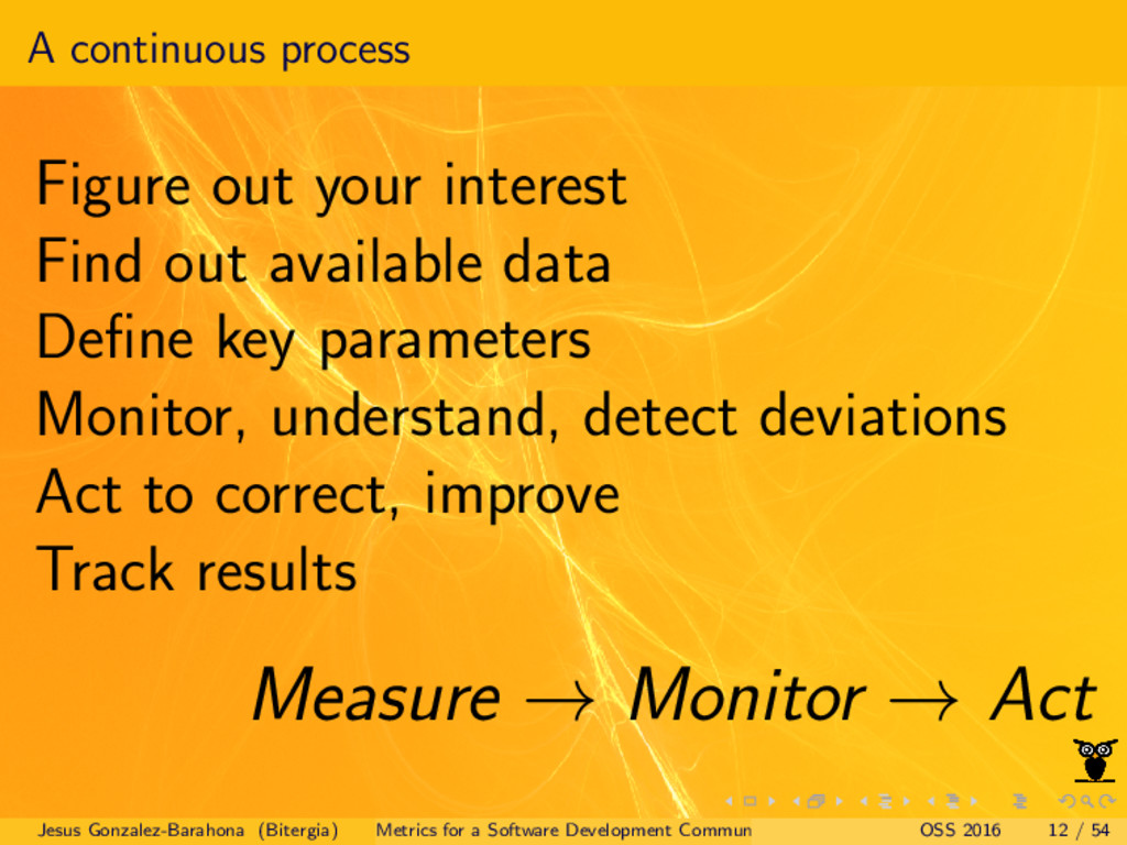 A continuous process Figure out your interest F...