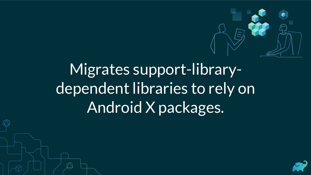 Migrates support-library- dependent libraries t...