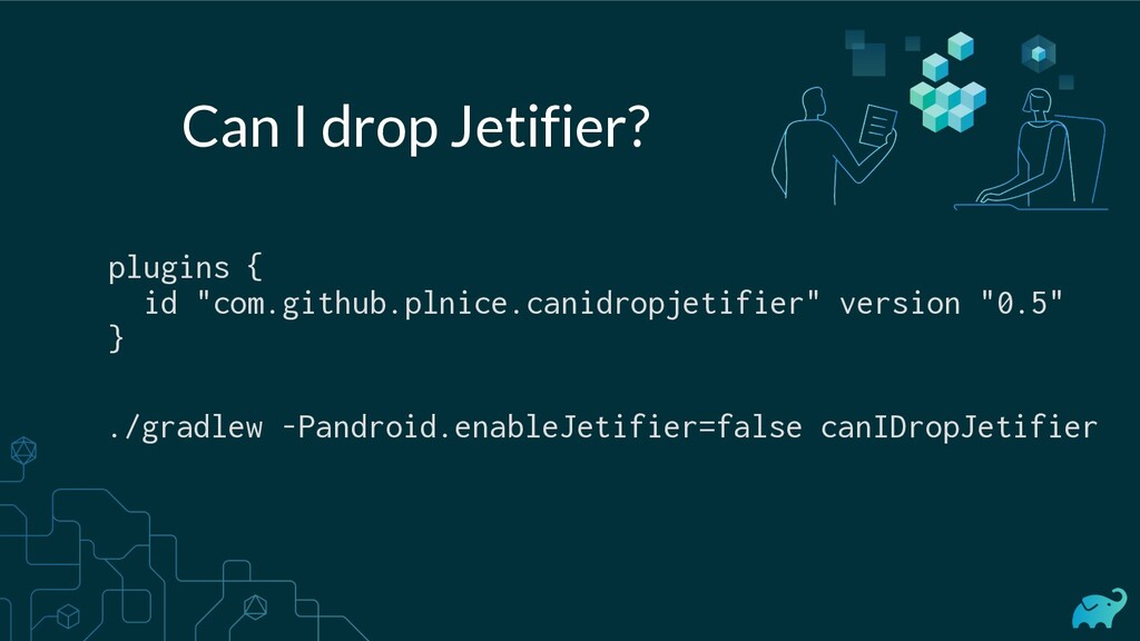 "plugins { id ""com.github.plnice.canidropjetifie..."