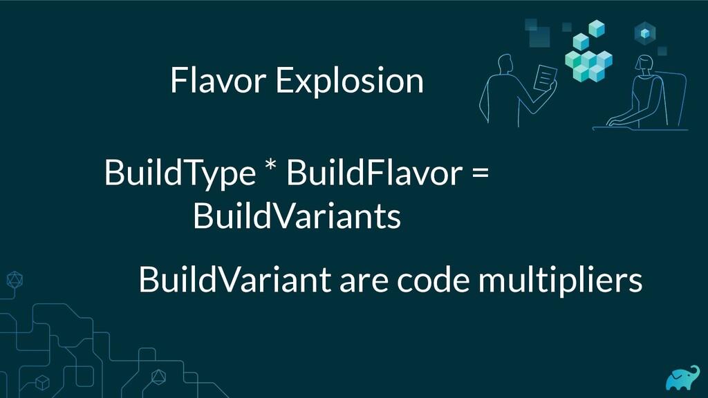 Flavor Explosion BuildType * BuildFlavor = Buil...