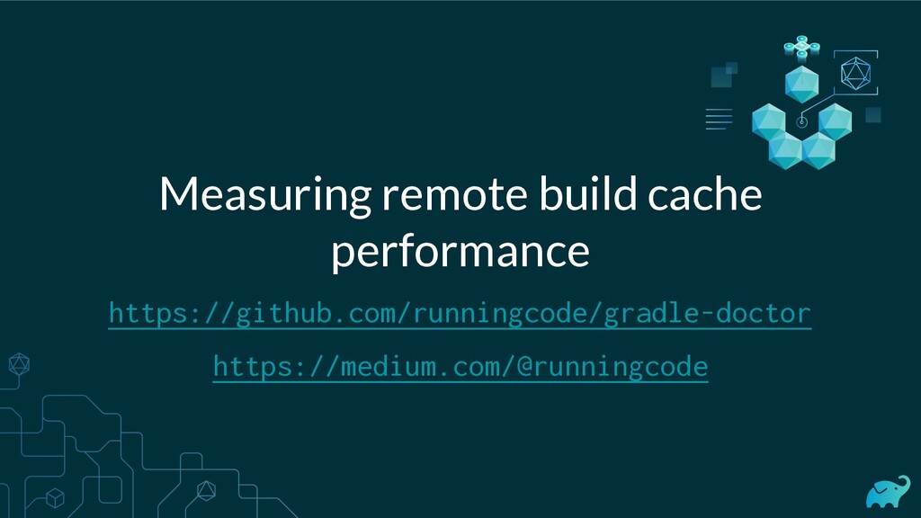 Measuring remote build cache performance https:...
