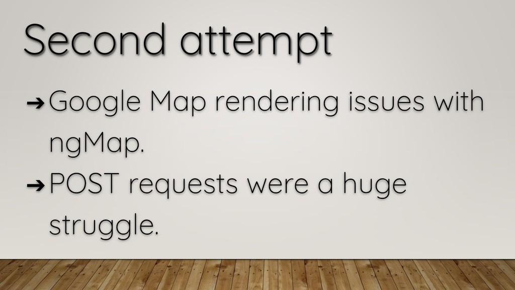 Second attempt ➔ Google Map rendering issues wi...