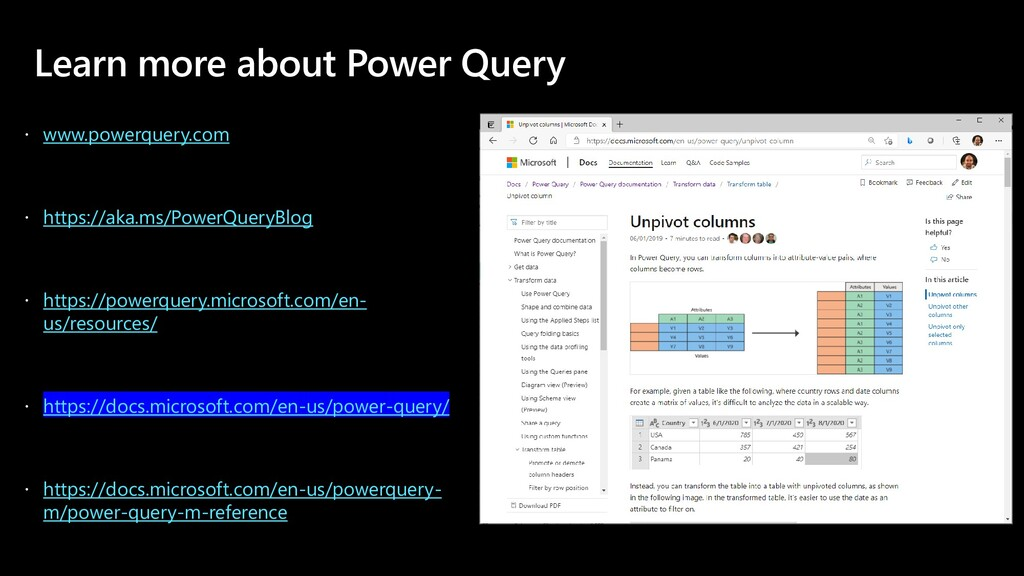Learn more about Power Query  www.powerquery.c...