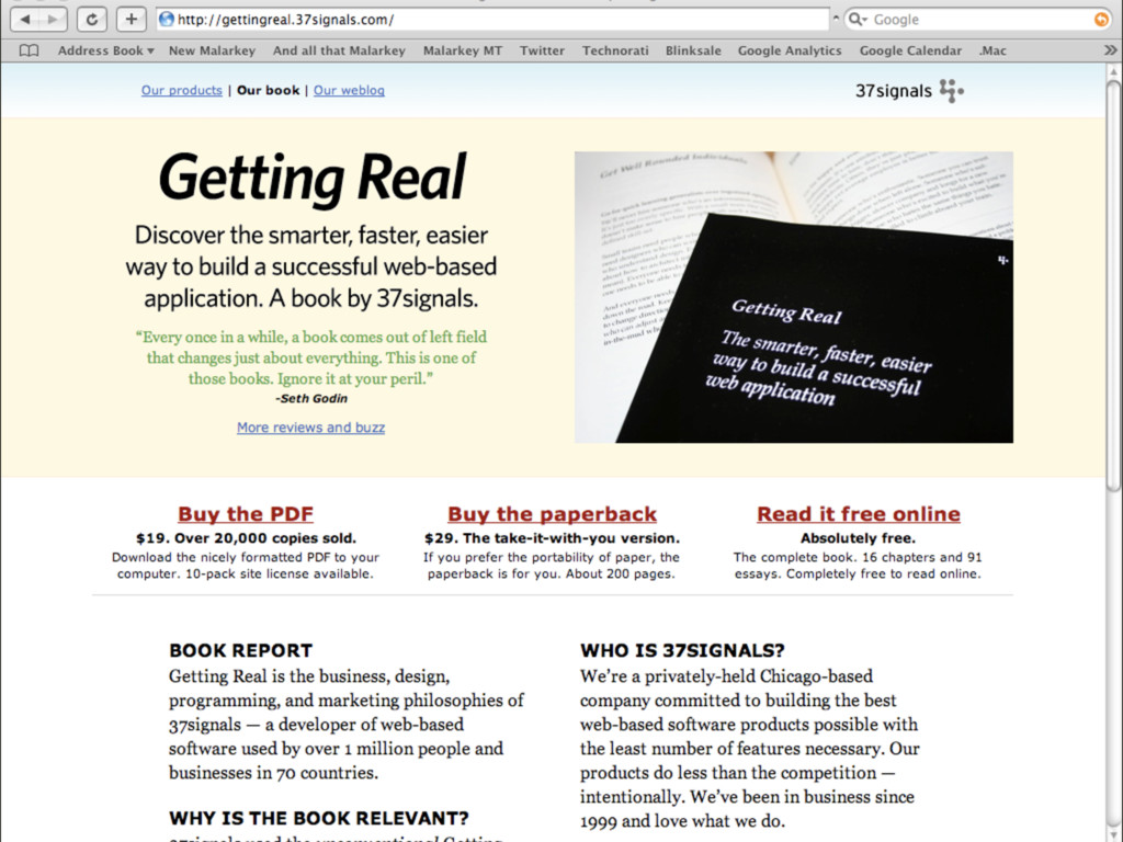 bullet tooth web design